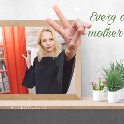 mothersday freetoedit muttertag threedimensional woman