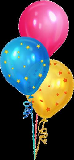 birthday ballons birthdayballons happybirthday stars freetoedit