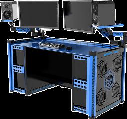 desk gamer security monitor computer freetoedit