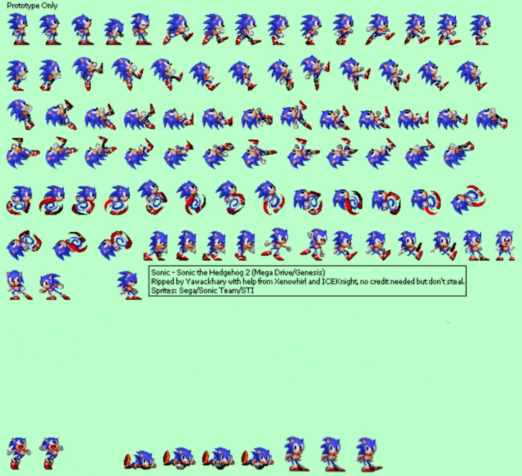 Sonic 2 Beta Project Sprites (APK) Credit To Them freet