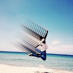 motion motiontool beach jump freetoedit