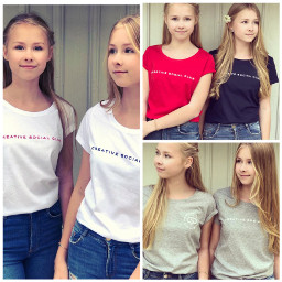 twins sisters style love friendsallovertheworld