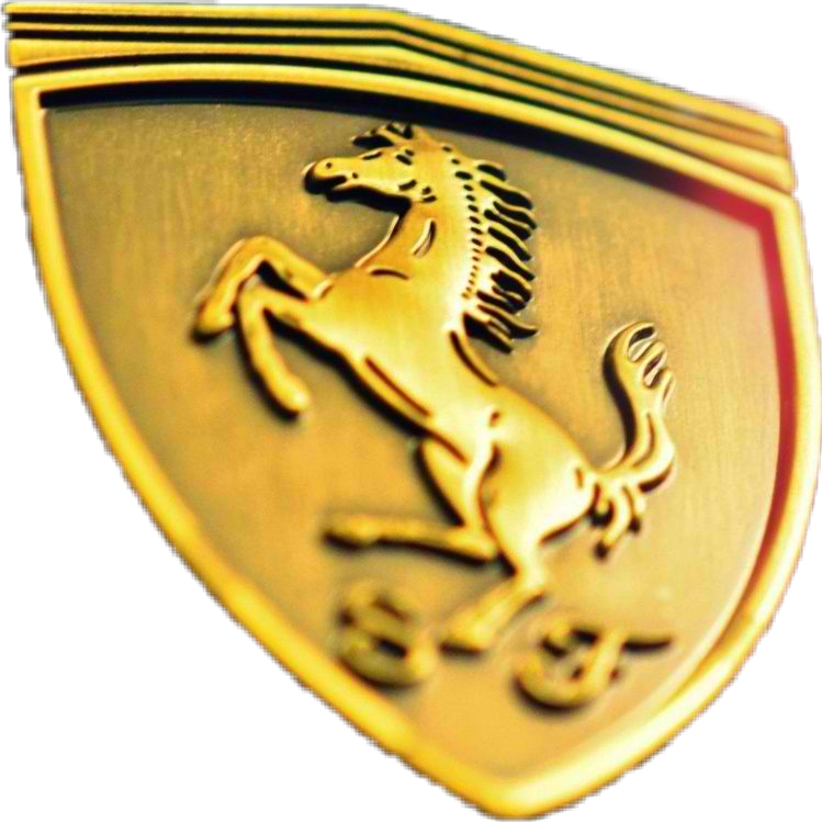 Logo In Lamborghini Sticker By Donacerdena