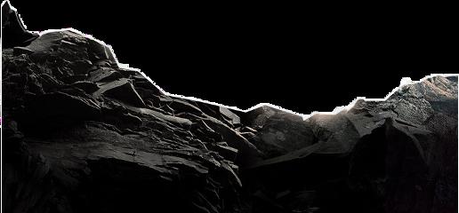 fundal rock cliff black white freetoedit