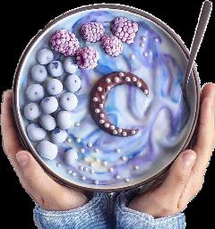 blueberry blueaesthetic yogurt freetoedit scblueberry