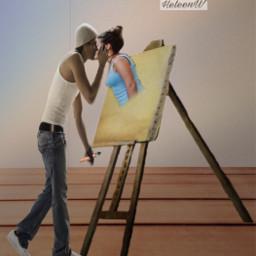 loveislove painter doubleexposure cutouttool selectiontool freetoedit