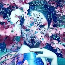 freetoedit galaxyeffect japan japanesestyle geisha