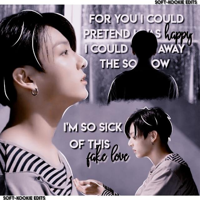 Fake Love mv edit   ───── ⋆⋅☆⋅⋆ ─────  #bts #fakelove #jungkook #jeonjungkook #jungkookedit #btsedit #kpop #kpopedit #freetoedit   ───── ⋆⋅☆⋅⋆ ─────
