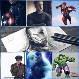 freetoedit capitanamerica ironman hulk