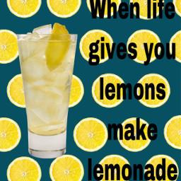 lemon lemonade quotes citrus remix freetoedit