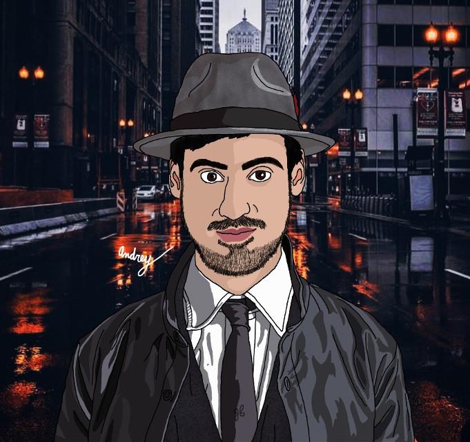 #freetoedit #man #detective