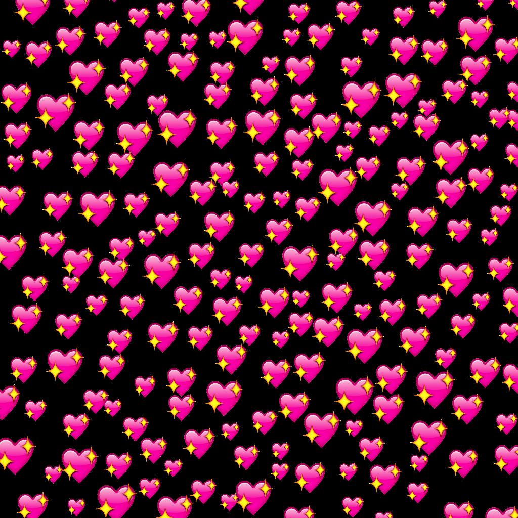 emoji emojis heart hearts love background backgroundemo