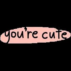 yourecute cute pink uwu tumblr freetoedit