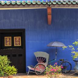 pcdoors doors blue cheongfatttzemansion mansion