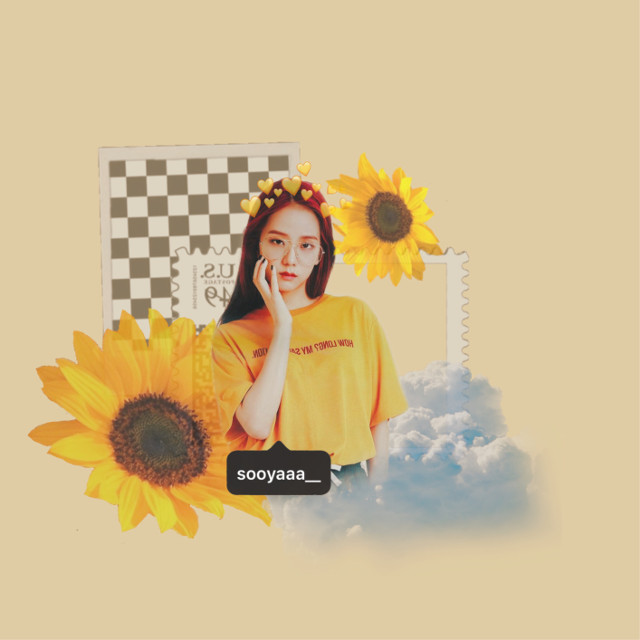hello all- i have made an edit with my pal @ahgasehumanbeing's sticker. i hope you like           #jisoo #blackpink #jisooblackpink #지수 #yellow #flower #aesthetic #summer