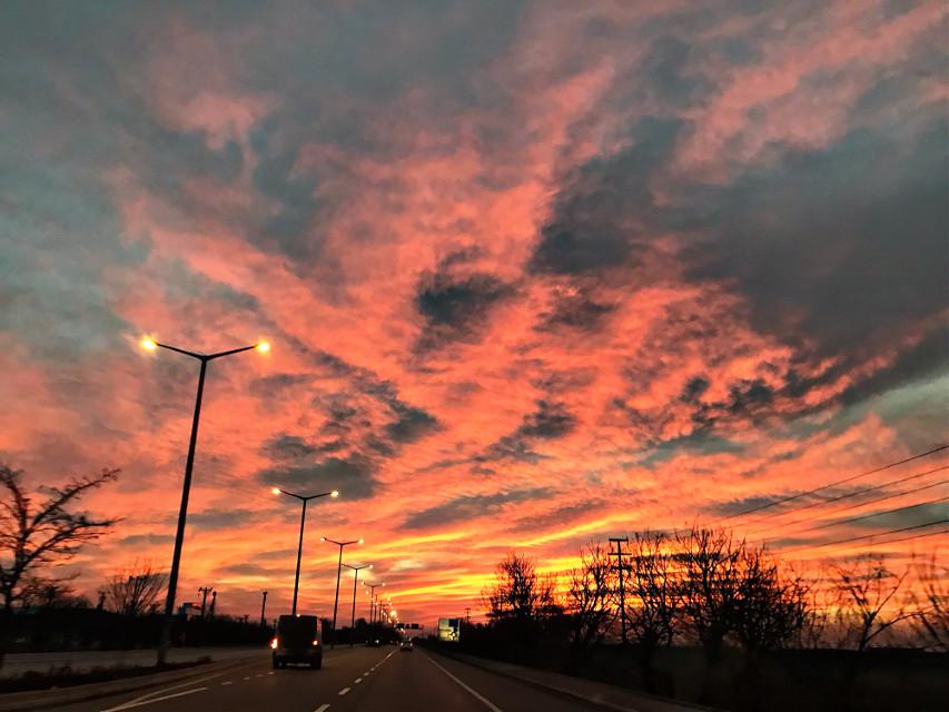#freetoedit #hdrphotography #skyphotography #roadsidephotography #sunsetphotography
