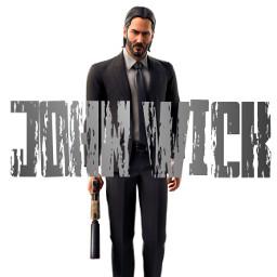 johnwick wick freetoedit fortnite fortnielogo