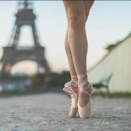 Paris ballerina beautyphoto