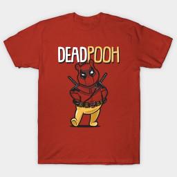 deadpooh teepublic funnyshirts tshirt tees