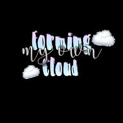 phonto aesthetic clouds imformingmyowncloud im freetoedit