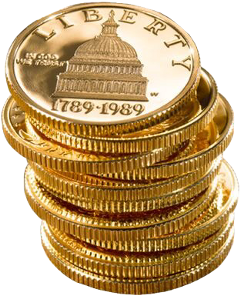 gold coins money currency pngs freetoedit