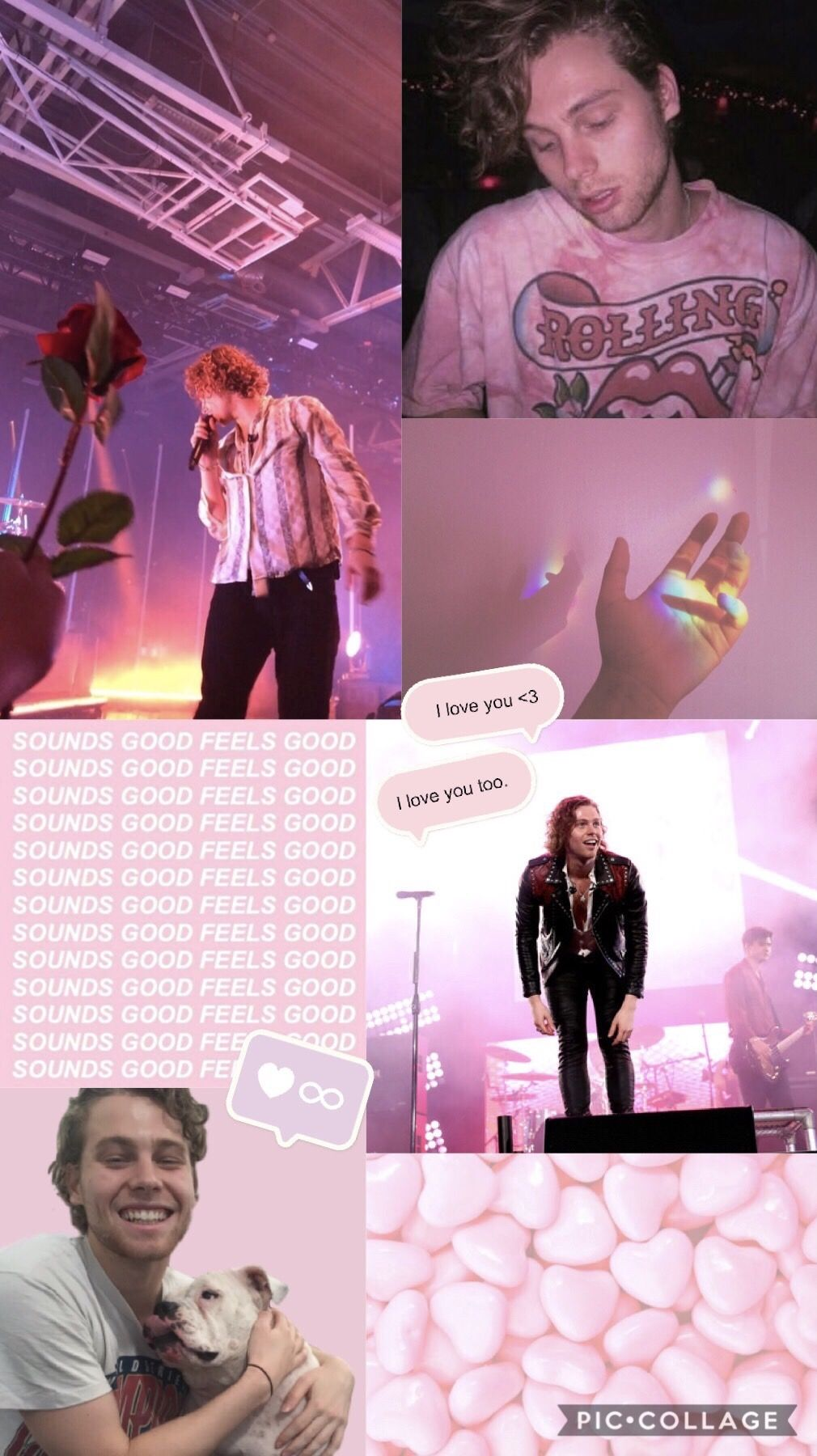 My Pink Aesthetic Luke Hemmings Edit 5secondsofsummer P