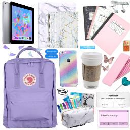 summer school classes class backpack freetoedit