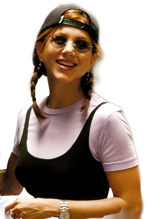 #rachelgreen #friends #sunglasses #braids #baseballcap  #freetoedit