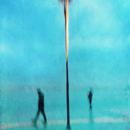 abstract photographyart blurry people streetlight