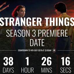 freetoedit strangerthings3 countdown