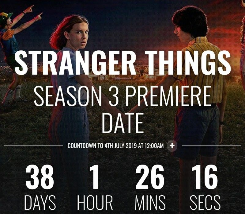 !!!!!!!!!!!!!!!!!!!!!!!!!!!!!!!!!!!!!!!!!!!!!!!!!!!!!!!!!!!!!!!!!!!!!!!!!!!!  I remember when it was like 98 days and it's already 38!  I'm so excited!! 。>﹏<。  #freetoedit #strangerthings3 #countdown