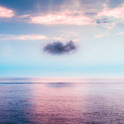sea ocean sky background backgrounds freetoedit