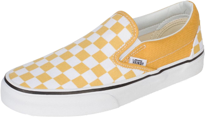 yellow vans shoes checkers freetoedit