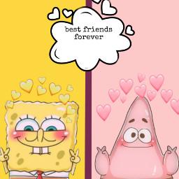 freetoedit patrick spongebobsquarepants spongebobandpatrick