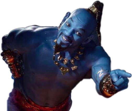 Genie Aladdin 2k19 2019 Movie Lamp Magic Disney