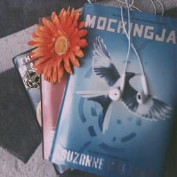 mockingjaypin thehungergames catchingfire mockingjay flower