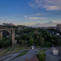 freetoedit ararat mountains city sky
