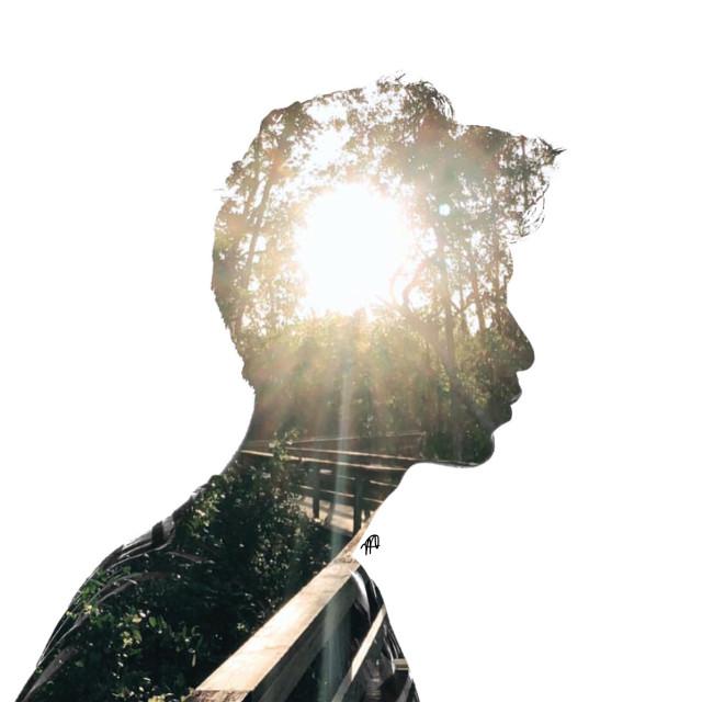 #freetoedit #mood #MyEdit #Water #Flower #abstract #aesthetic #artwork #graphicsdesign #copyright #photostory #sun #man #doubleexposure