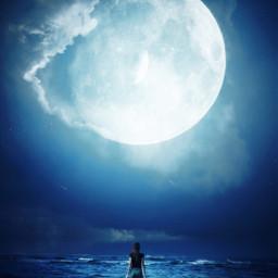 ocean solo mindful peace sea freetoedit