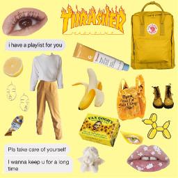 freetoedit remixit aesthetic aestheticyellow yellowaesthetic