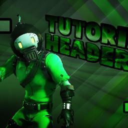 tutorial header banner speedart art freetoedit