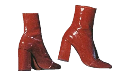 niche nm red shoes freetoedit