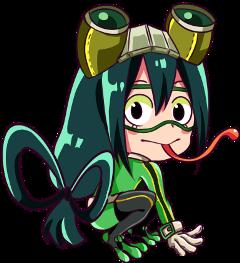 froppy frog froggirl tsuyu tsuyuchan freetoedit