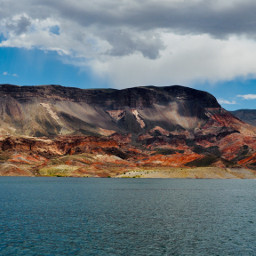 lakemead nevada lake water mountains