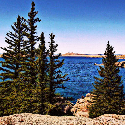 freetoedit nature lakes trees hike
