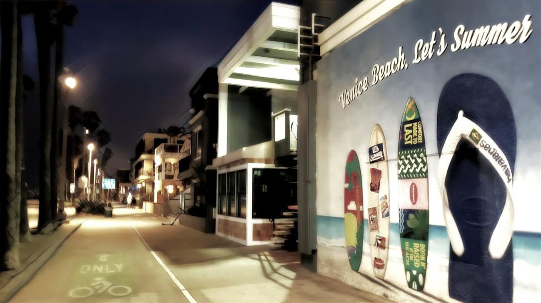 Venice Beach, Let's Summer! #venicebeach #california #beach #night #nightphotography #summer