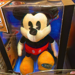 mickeymouse softtoy iphoneography