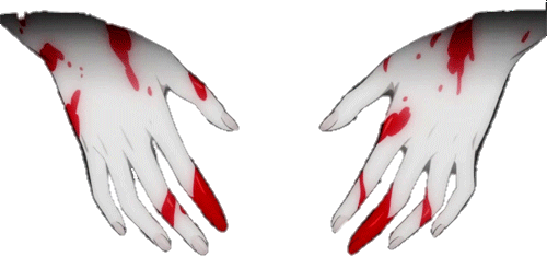 Popular and Trending bloody hand Stickers on PicsArt