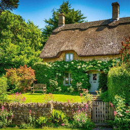 freetoedit cottage country nature remix