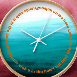 freetoedit clocks clocksticker bestfriendsforlife